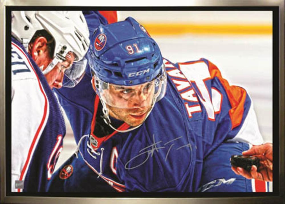 John Tavares - Signed & Framed 20x29