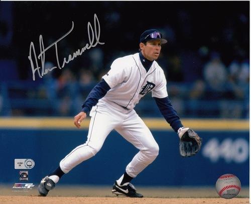 Alan Trammell Autographed 8x10