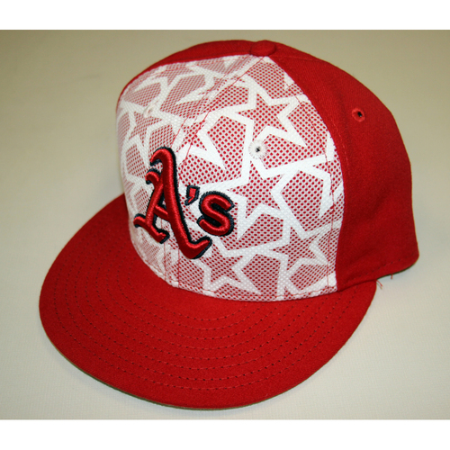 Photo of John Axford #61 Game-used 2016 July 4th Hat