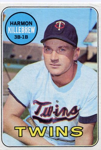 Photo of 1969 Topps #375 Harmon Killebrew -- Twins Hall of Famer