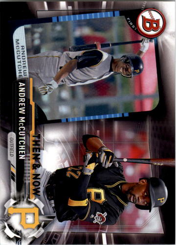 Photo of 2017 Topps Bowman Then and Now #BOWMAN12 Andrew McCutchen