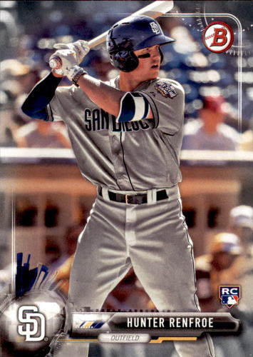 Photo of 2017 Bowman #99 Hunter Renfroe RC