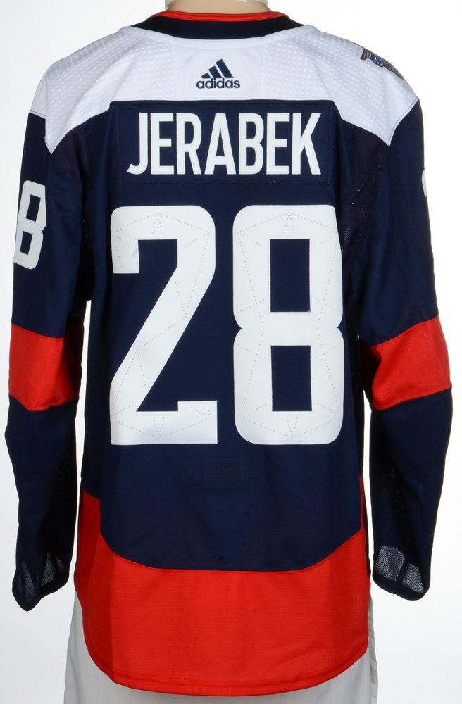 Jakub Jerabek Washington Capitals Player-Issued 2018 NHL Stadium Series Jersey