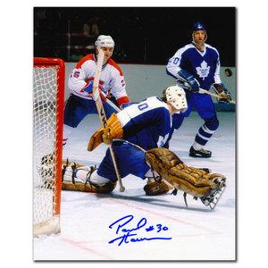 Paul Harrison Toronto Maple Leafs vs. Montreal Autographed 8x10