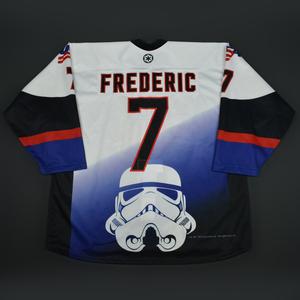 Trent Frederic - 2016 U.S. National Under-18 Development Team - Star Wars Night Game-Worn Jersey