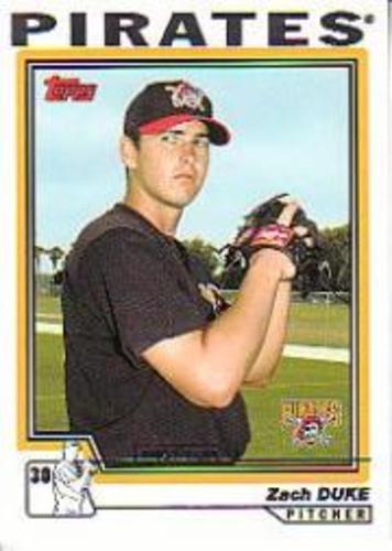 Photo of 2004 Topps #325 Zach Duke FY RC