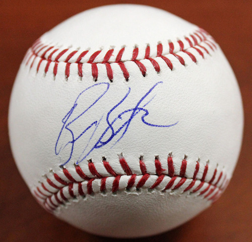 Photo of Billy Butler Autographed Baseball