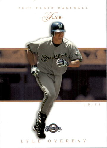 Photo of 2005 Flair Row 1 #12 Lyle Overbay