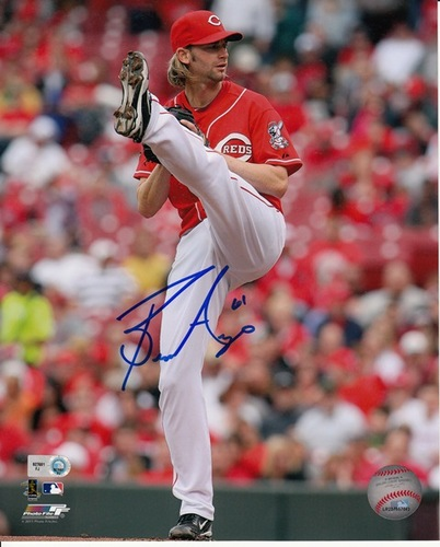 Photo of Bronson Arroyo Autographed 8x10