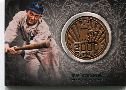 Photo of 2016 Topps Update 3000 Hits Club Medallions #3000M1 Ty Cobb