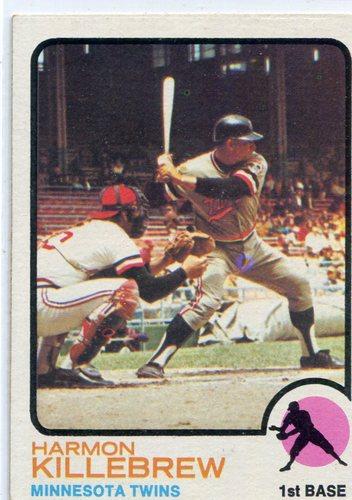Photo of 1973 Topps #170 Harmon Killebrew Hall of Famer