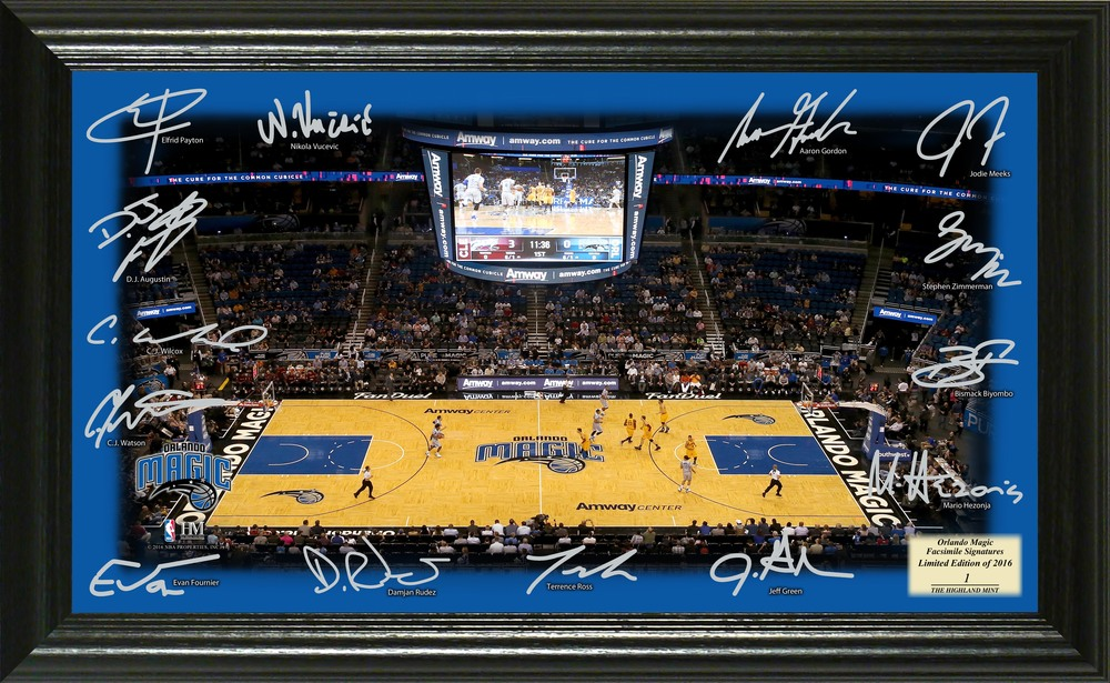 Serial #1! Orlando Magic Signature Court