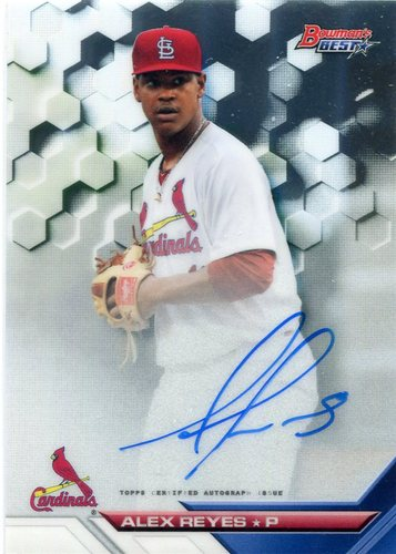Photo of 2016 Bowman's Best Best of '16 Autographs #B16AR Alex Reyes