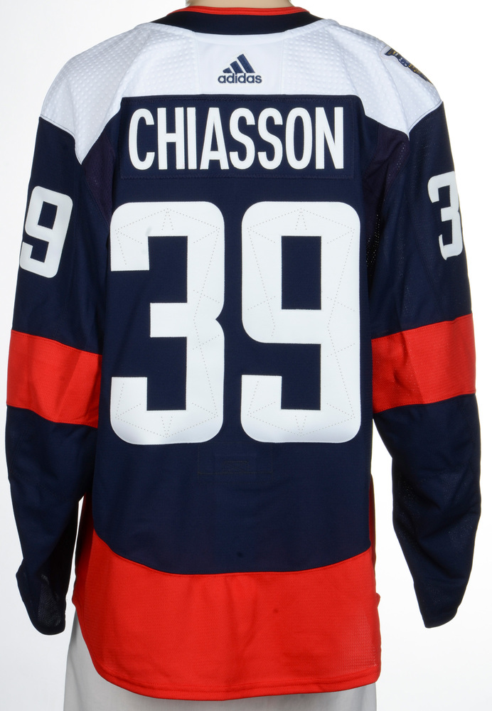 Alex Chiasson Washington Capitals Player-Issued 2018 NHL Stadium Series Jersey