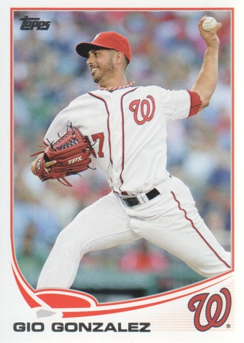 Photo of 2013 Topps #626 Gio Gonzalez