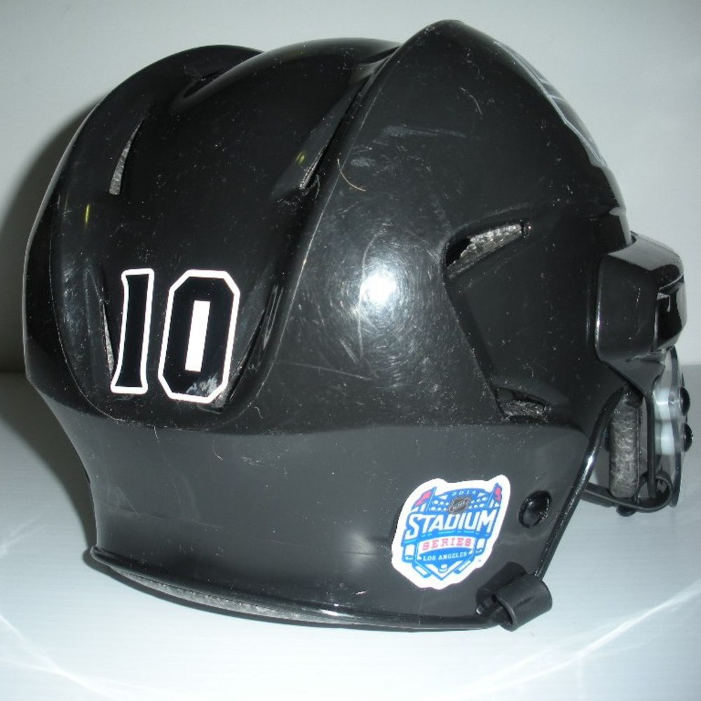 Mike Richards - 2014 Stadium Series - LA Kings - Game-Worn Helmet