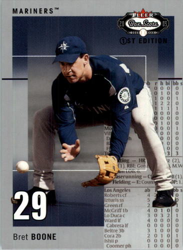 Photo of 2003 Fleer Box Score First Edition #65 Bret Boone