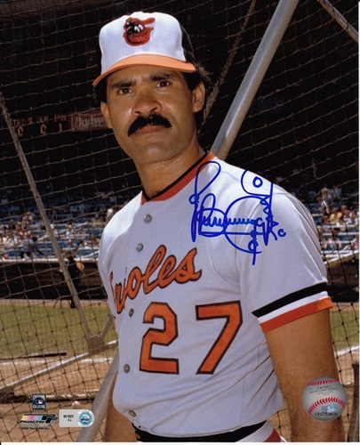 Benny Ayala Autographed 8x10