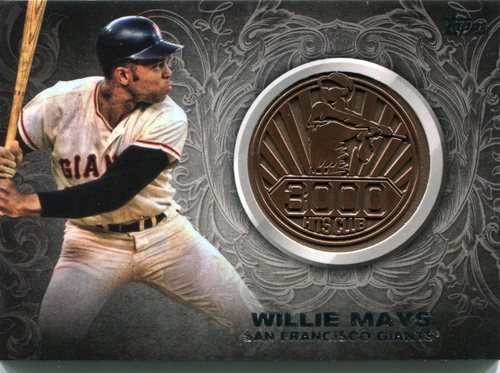 Photo of 2016 Topps Update 3000 Hits Club Medallions #3000M7 Willie Mays