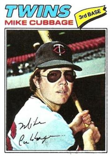 Photo of 1977 Topps #149 Mike Cubbage