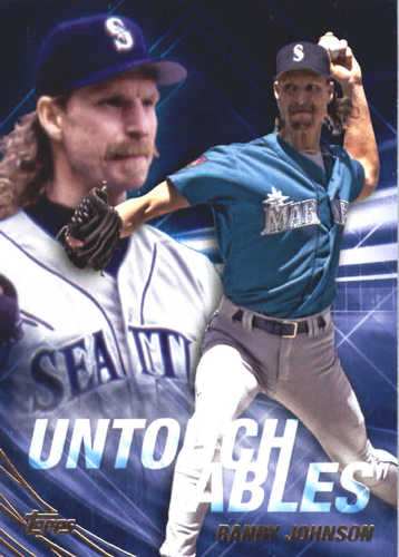 Photo of 2017 Topps Update Untouchables #U25 Randy Johnson