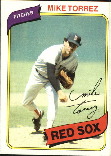 Photo of 1980 Topps #455 Mike Torrez