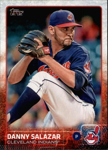 Photo of 2015 Topps #393 Danny Salazar