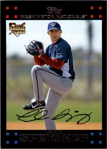 Photo of 2007 Topps #629 Levale Speigner RC