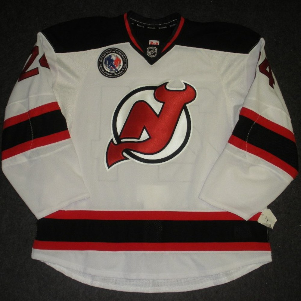 #24 Bryce Salvador - New Jersey Devils - Hockey Hall of Fame Game - Game-Issued Jersey