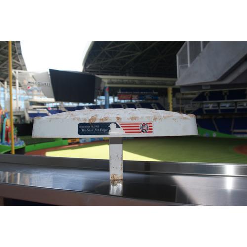Photo of Marlins vs. Dodgers 9/11/16 - 3rd Base