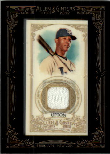 Photo of 2012 Topps Allen and Ginter Relics #BU B.J. Upton