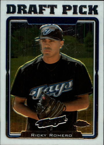 Photo of 2005 Topps Chrome Update #207 Ricky Romero FY RC