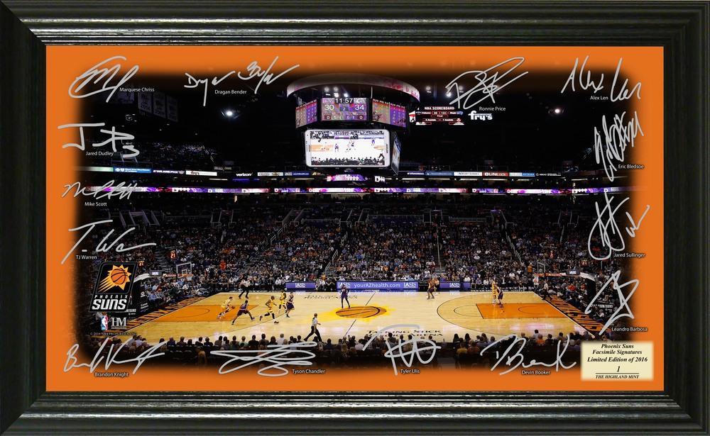 Serial #1! Phoenix Suns Signature Court