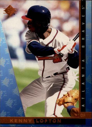 Photo of 1997 SP #24 Kenny Lofton