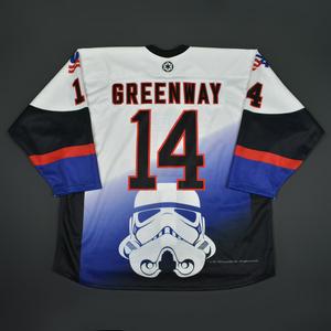 J.D. Greenway - 2016 U.S. National Under-18 Development Team - Star Wars Night Game-Worn Jersey