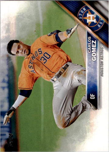 Photo of 2016 Topps #249 Carlos Gomez
