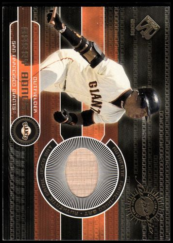 Photo of 2001 Private Stock Game Gear #151 Barry Bonds Bat