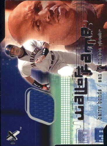 Photo of 2001 E-X Wall of Fame #2 Barry Bonds