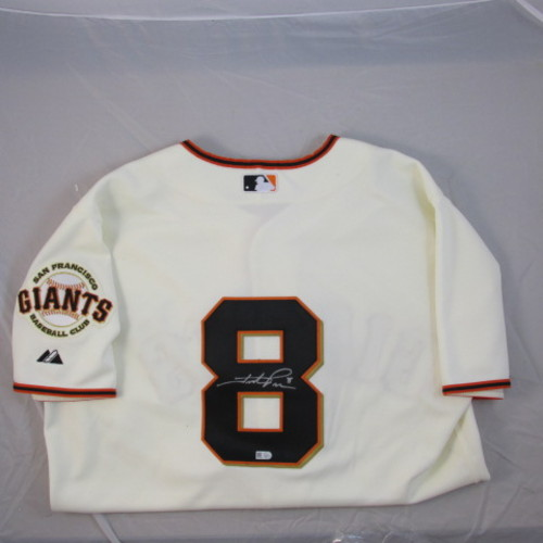 Photo of Hunter Pence Autographed Authentic Giants Jersey