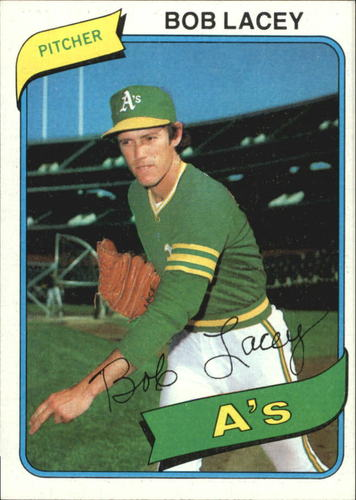 Photo of 1980 Topps #316 Bob Lacey