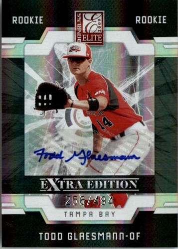 Photo of 2009 Donruss Elite Extra Edition #76 Todd Glaesmann AU/494