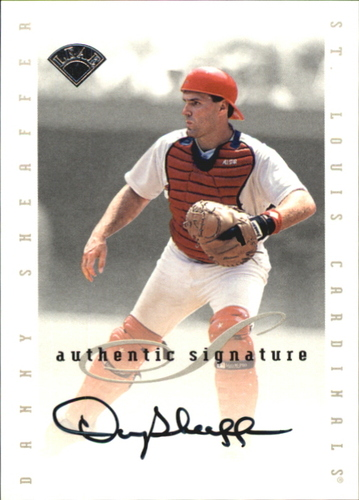 Photo of 1996 Leaf Signature Extended Autographs #181 Danny Sheaffer