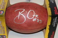 RAMS - BRIAN QUICK SIGNED AUTHENTIC FOOTBALL