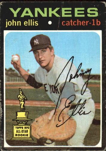 Photo of 1971 Topps #263 John Ellis