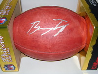 NFL - 49ERS BRYCE TREGGS SIGNED AUTHENTIC FOOTBALL
