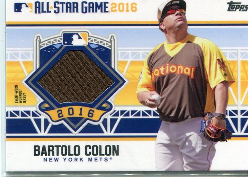 Photo of 2016 Topps Update All-Star Stitches #ASTITBC Bartolo Colon