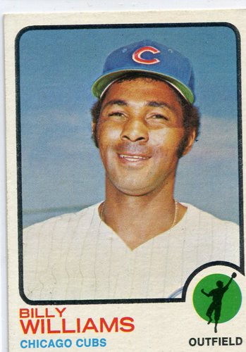 Photo of 1973 Topps #200 Billy Williams Hall of Famer