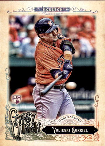 Photo of 2017 Topps Gypsy Queen #22 Yulieski Gurriel RC