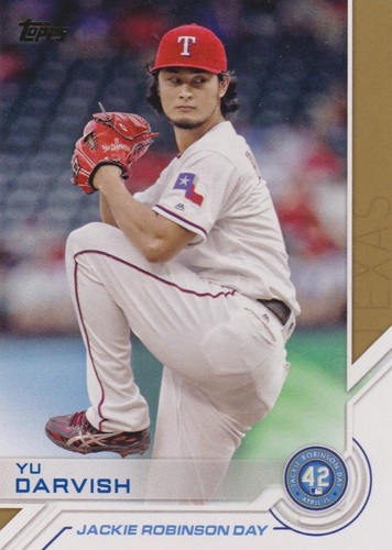 Photo of 2017 Topps Jackie Robinson Day #JRD11 Yu Darvish