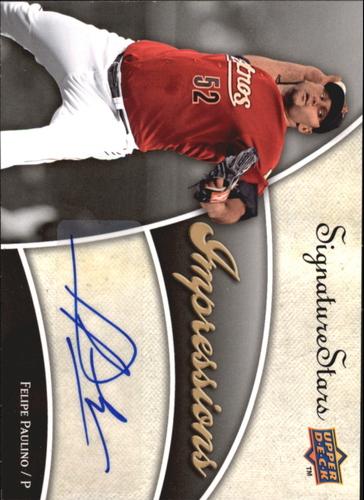 Photo of 2009 Upper Deck Signature Stars Impressions Signatures #FP Felipe Paulino